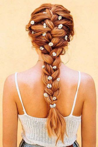 Tips On French Braid Red #braids #frenchbraid