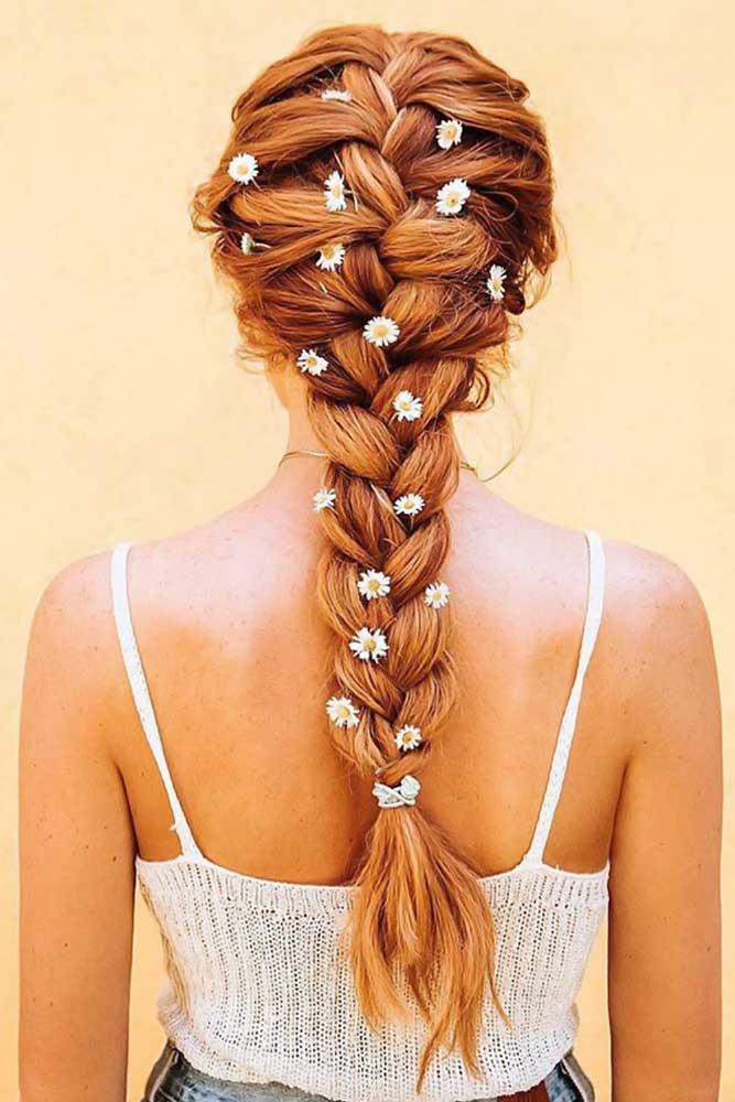 Tips On French Braid Red #braids #frenchbraid