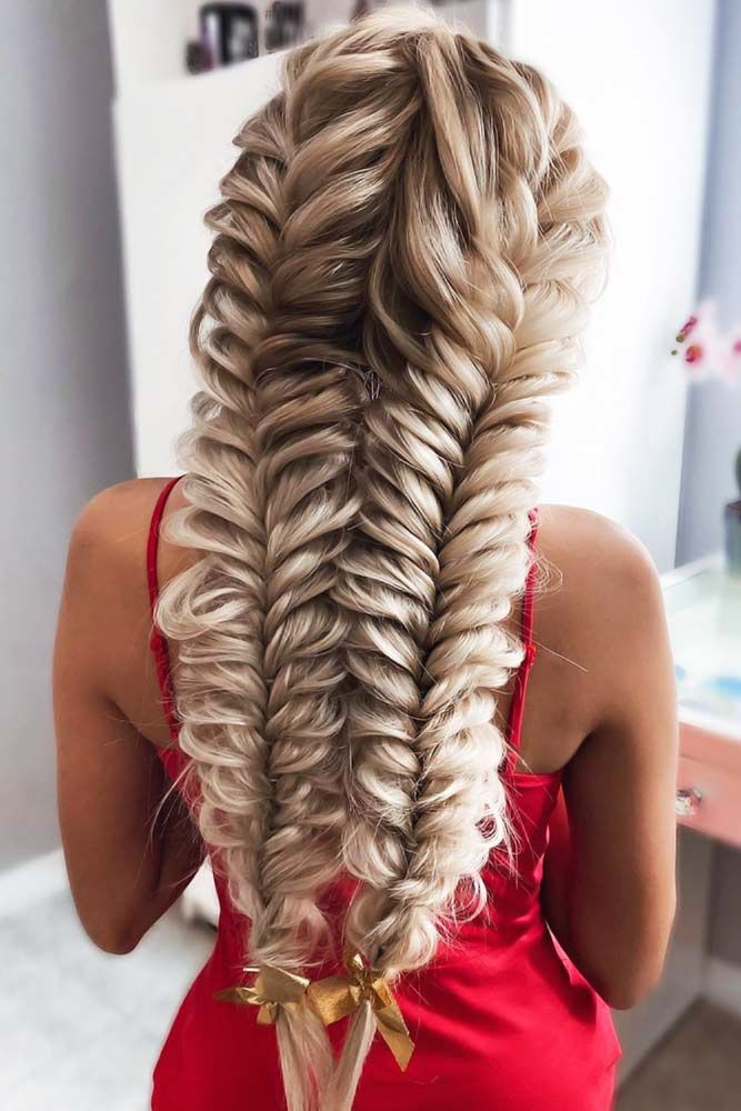 French Fishtail Braid Styles Double #braids #frenchbraid