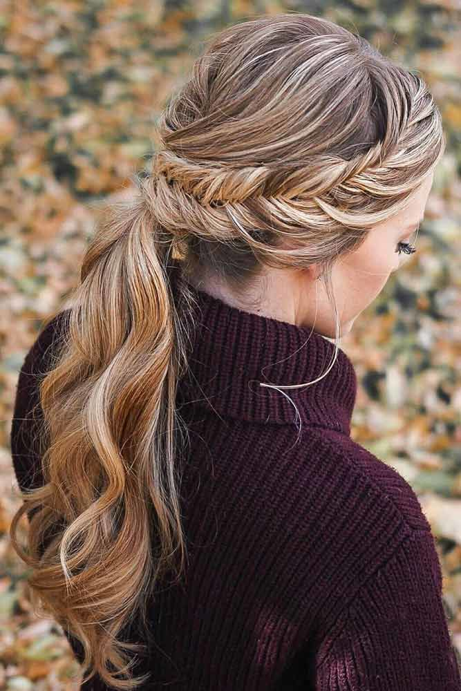 French Fishtail Braid Styles Crown #braids #frenchbraid