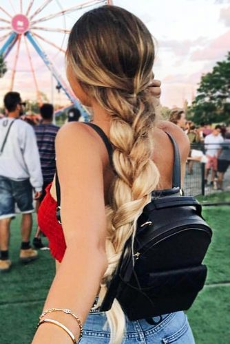 Cool French Braid Styles For Summer Break picture2