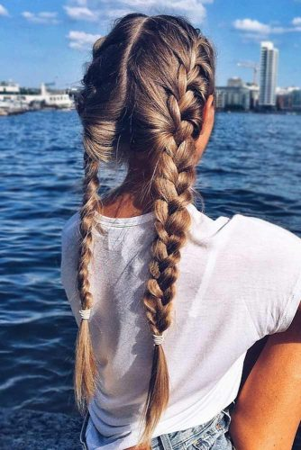 Cool French Braid Styles For Summer Break picture1