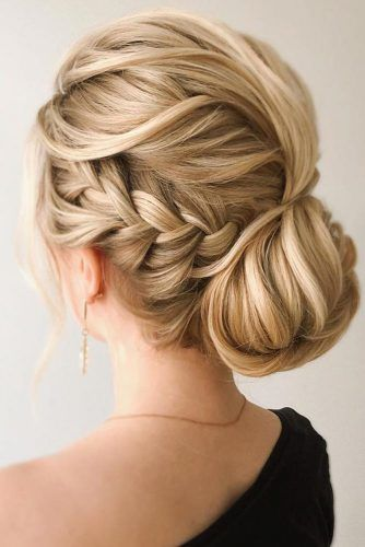 Side French Braid Blonde #braids #frenchbraid