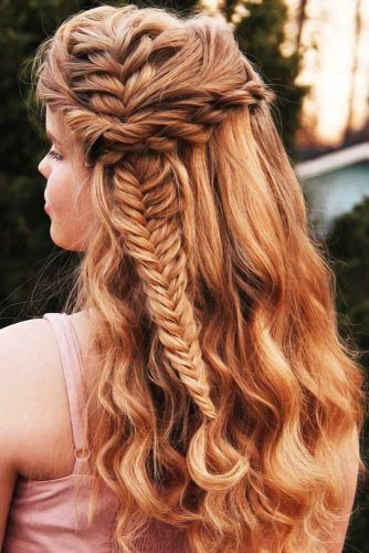 Side French Fishtail Braids Twists #braids #frenchbraids