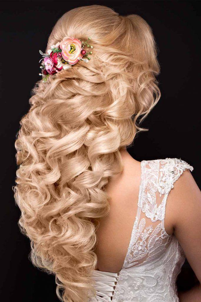 Mind-Blowing Half Up Half Down Bridal Hairstyles