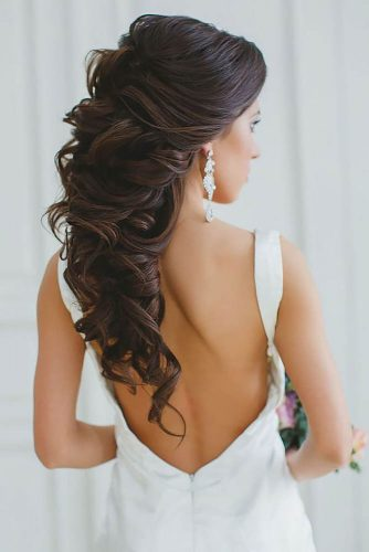 Mind Blowing Half Up Half Down Bridal Hair picture 6