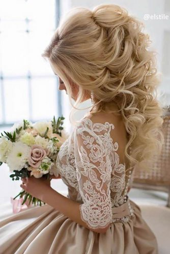 Mind Blowing Half Up Half Down Bridal Hair picture 2
