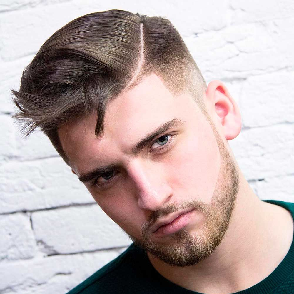 High And Tight Cut With A Beard