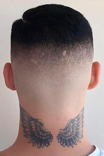 Buzz Cut with High Skin Fade picture2