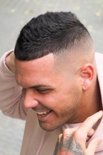 Buzz Cut with High Skin Fade picture1