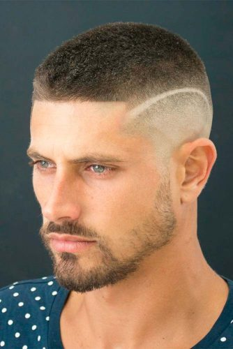 High and Tight Fade with Crew Cut picture1