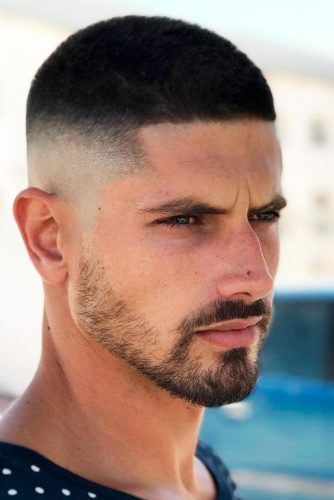 Buzz Cut with High Skin Fade picture3