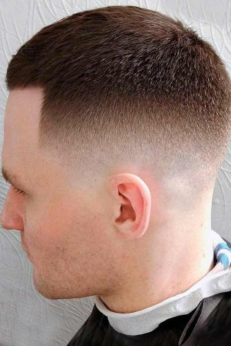 High and Tight Fade with Crew Cut picture2