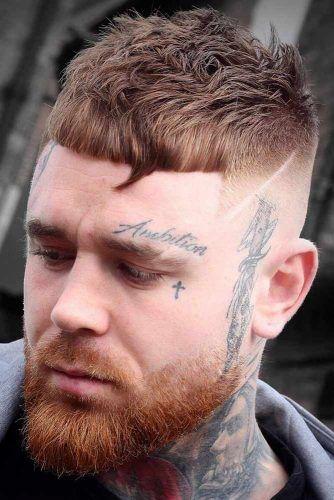 High And Tight Cut With A Beard #haircuts #highandtighthaircut #menhaircuts