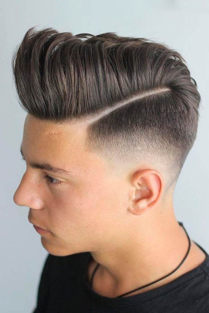 Shaved Sides With Receding Hairline