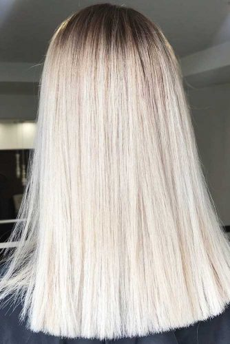 Platinum Blonde Ideas Straight #sleekhair #blondehair #straighthair