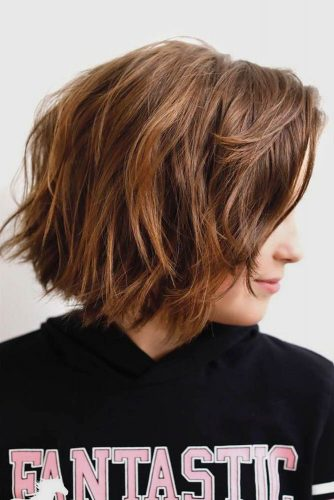 Short Bob Shag Haircut picture1