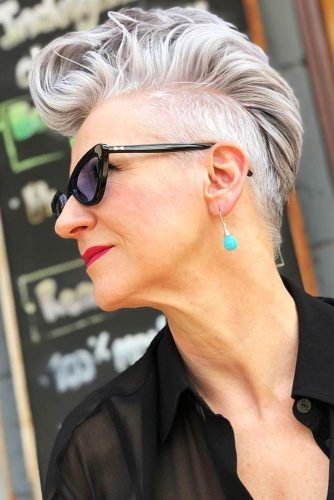 Layered Pixie Ideas Undercut #pxie #undercut #shorthair