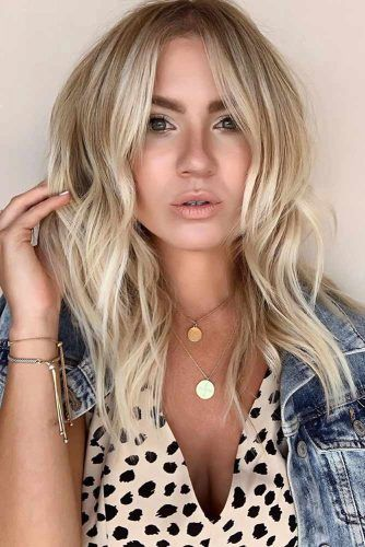 Baby Blond Layers #springhaircolors