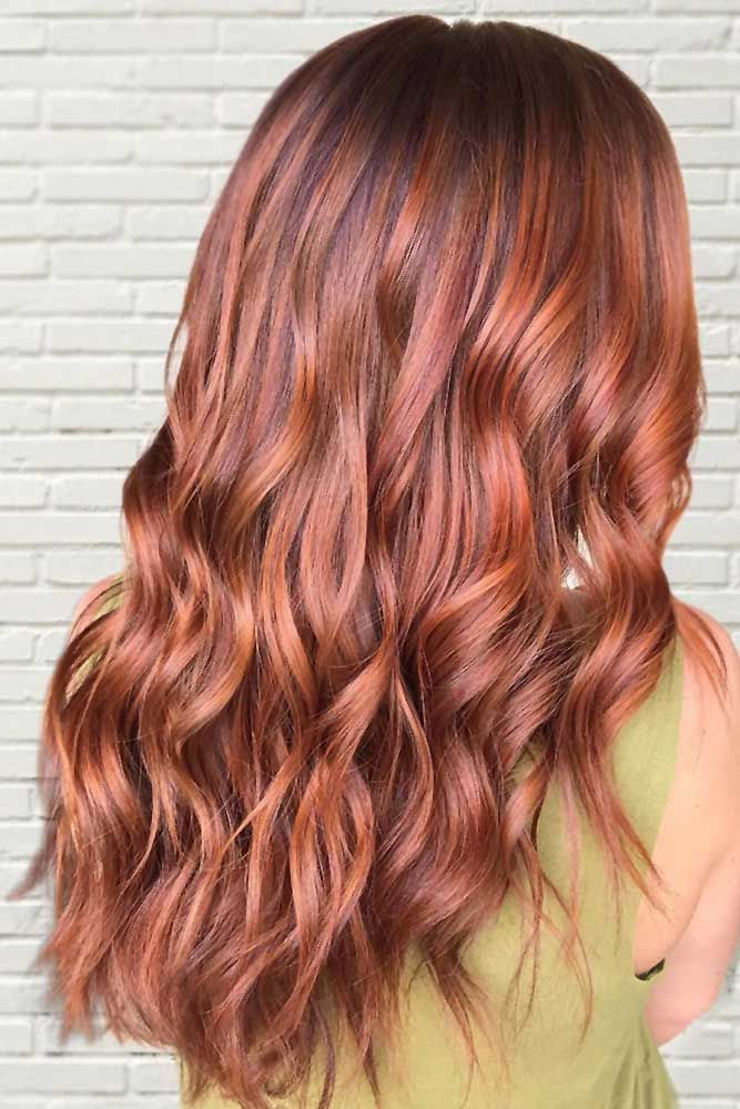 Coral Copper #springhaircolors