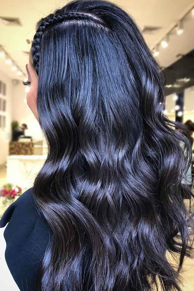 Inky Black Waves #brunette #blackhair