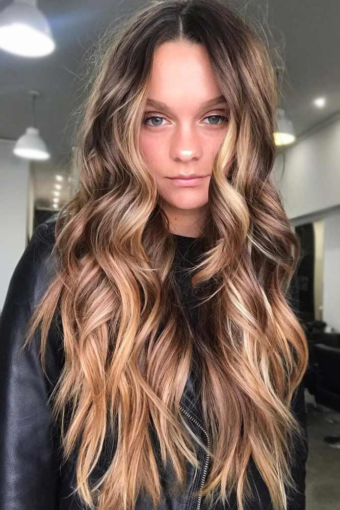 Sun Kissed Hair Colors Messy #springhaircolors