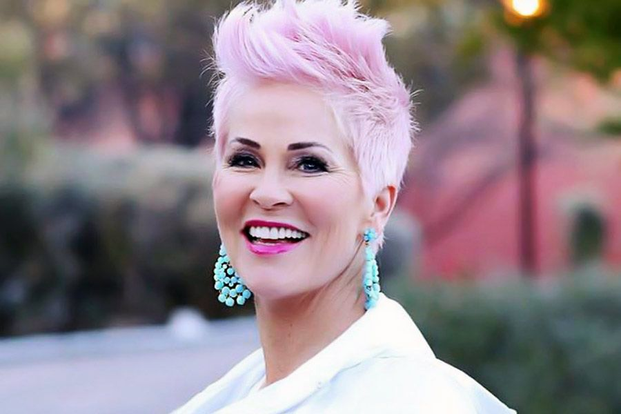 Youthful And Stylish Short Haircuts For Women Over 50