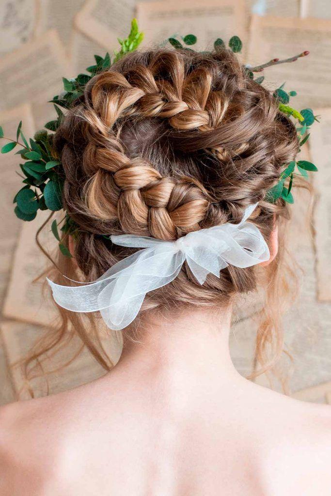 Braided Updo Wedding Hairstyles