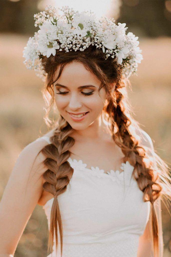 Easy Braided Wedding Hairstyles