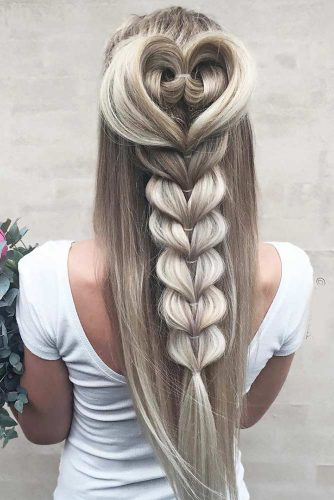 Unique Hairstyle Ideas For Sweet Brides picture 4