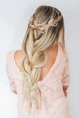 Boho Inspired Half Up Half Down Hairstyles picture 4