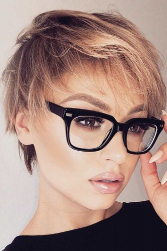 Pixie Cut For Layered Hair #pixiehairstyles #pixiecut #shorthair #hairstyles #layeredhair