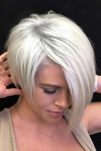 Long Pixie Cut With A Bang #pixiehairstyles #pixiecut #shorthair #straighthair #blondehair