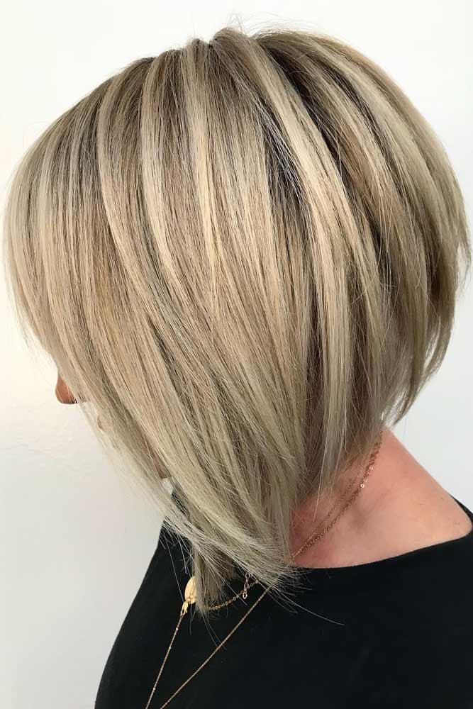 Straight Inverted Haircut #haircutsforwomen #womenhaircuts #haircuts #invertedhaircut