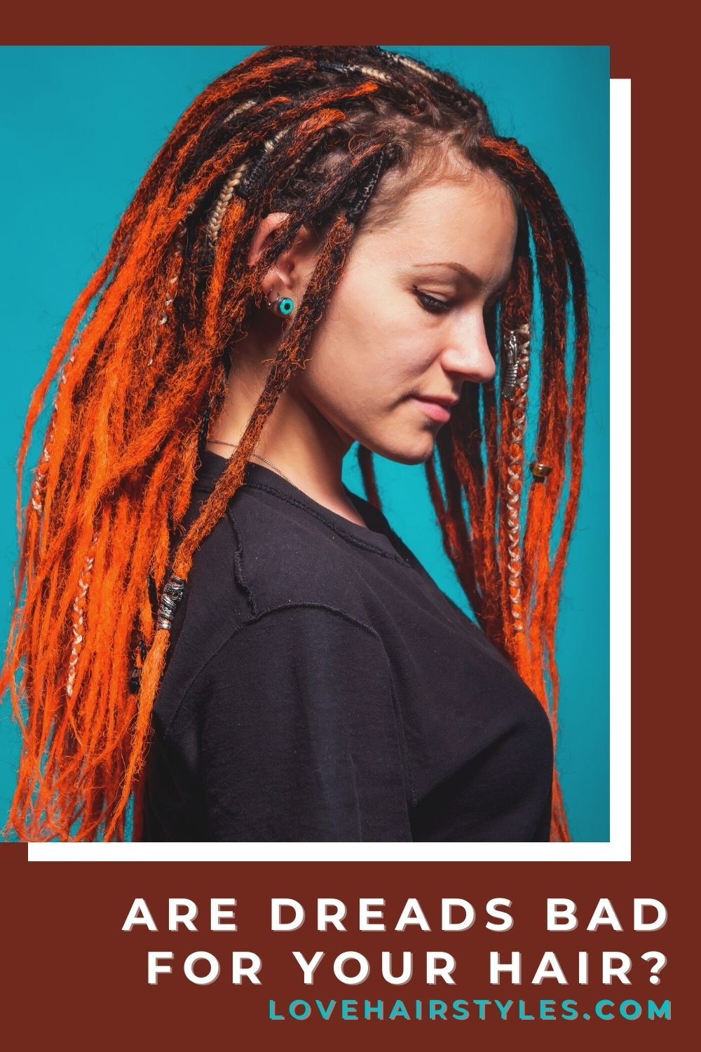 Are Dreads Bad For Your Hair? #dreadlocks