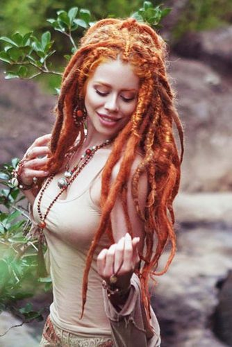 Hairstyles For Long Dreadlocks picture3