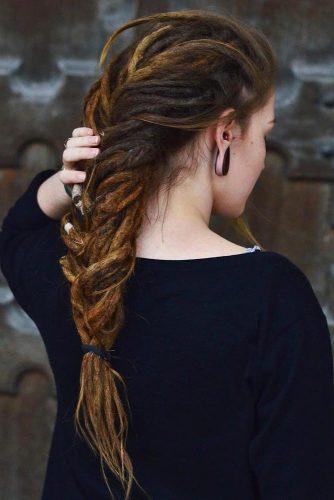 Long Braided Dreads #dreadlocks #dreadlockshairstyles #hairstyles #braids