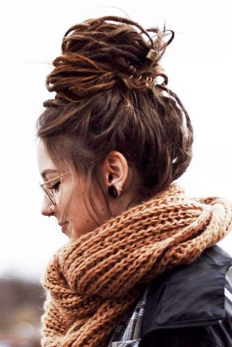 Dread Bun Hairstyles picture1
