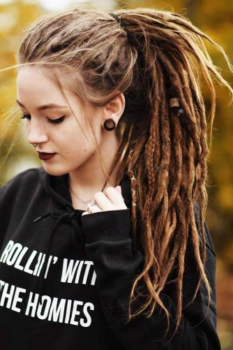 Dreadlocks Ponytail Hairstyle picture2