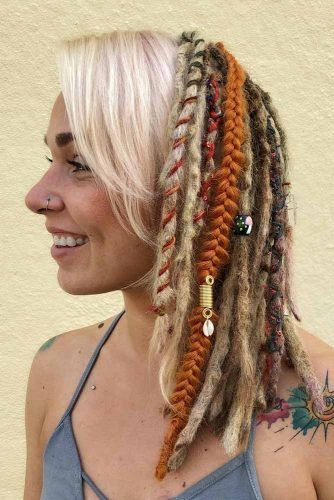 Hairstyles For Medium Dreads #dreadlocks #dreadlockshairstyles #hairstyles