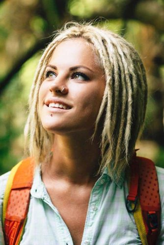 Hairstyles For Short Dreads picture3