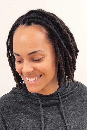 Hairstyles For Short Dreads #dreadlocks #dreadlockshairstyles #hairstyles