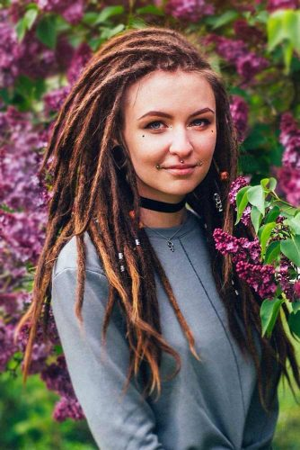 Hairstyles For Long Dreadlocks picture1