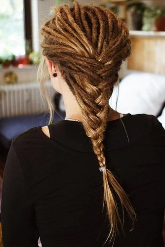 Braided Dreads Tight #dreadlocks