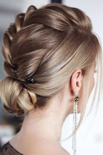 Braided Updos With Accessories #formalhairstyles #hairstyles #updohairstyles