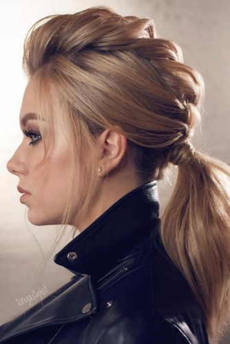 Trendy Ponytail For Stylish Girls picture 3