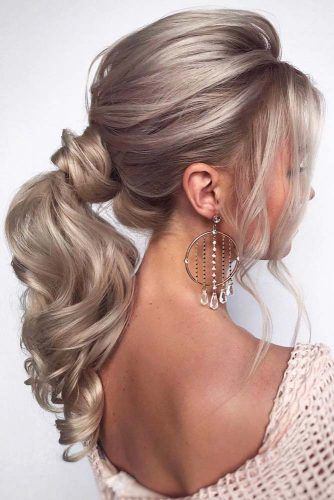 Trendy Ponytail For Stylish Girls To Look Charming #ponytail #longhair