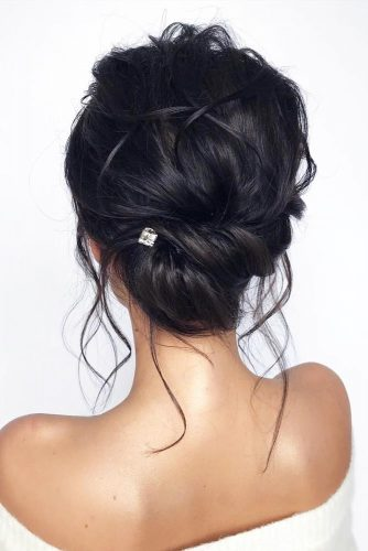 Black Fancy Updos For Modern Girls #formalhairstyles #hairstyles #updohairstyles