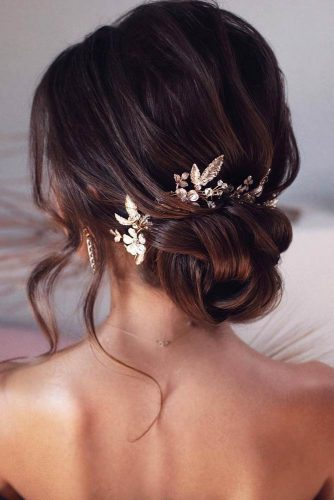 Brown Fancy Updos For Modern Girls #formalhairstyles #hairstyles #updohairstyles