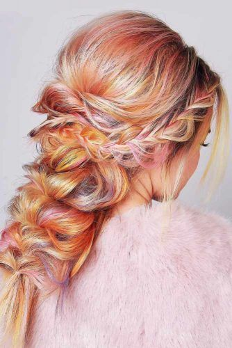 French Crown Braids Into Topsy Tails #frenchbraids #braids